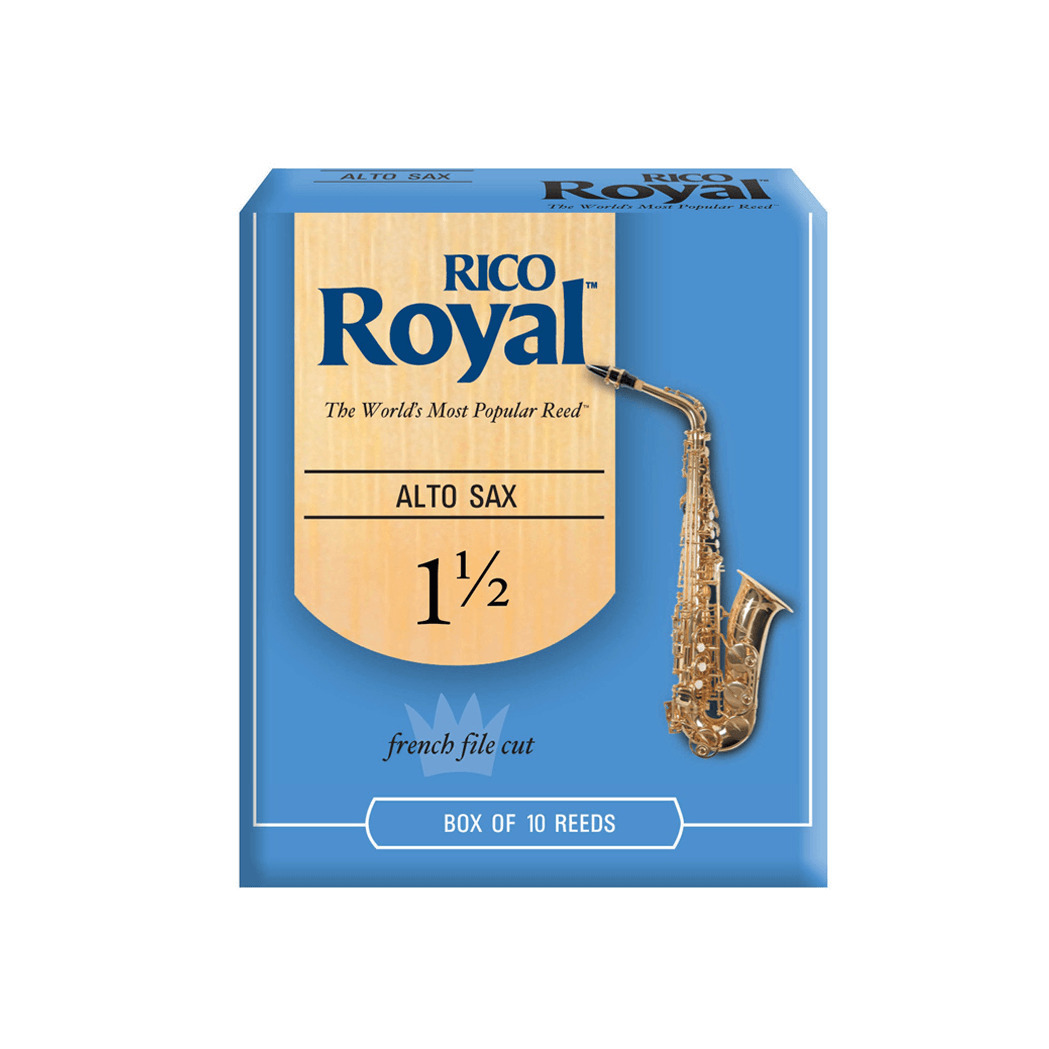 Strength 3 10-pack Royal by D/'Addario Alto Saxophone Reeds