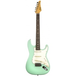 Suhr Classic S Antique SSS Guitar - Surf Green Rosewood Neck Nitro Finish image