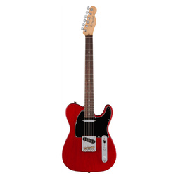 Fender American Professional Telecaster Crimson Red Transparent Rosewood Fretboard Electric Guitar image