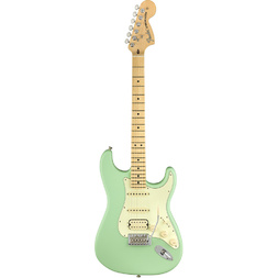Fender American Performer Stratocaster HSS Maple Fingerboard Satin Surf Green - Preorder Now image