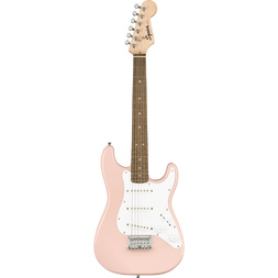 Squier Mini Stratocaster Laurel Fingerboard - Shell Pink image