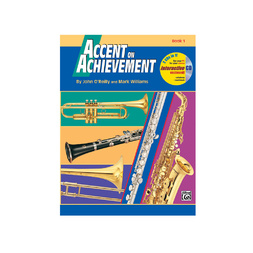 Accent On Achievement Series Book 1 - Flute image