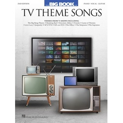 Big Book Of Tv Theme Songs Pvg 2Nd Edition image