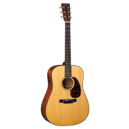 Martin Retro Series D-18E Dreadnought Acoustic Guitar w/Aura+ Pre-amp image