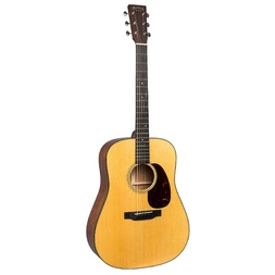 Martin D18E Standard Series Dreadnought w/ Aura VT Enhance image