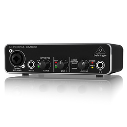 Behringer U-Phoria UMC22 Interface image