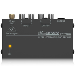 Behringer Microphono PP400 Phono Preamp image