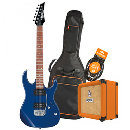Ibanez Christmas Guitar Pack - RX22EXBL Blue w/Crush Amp  & Accessories image