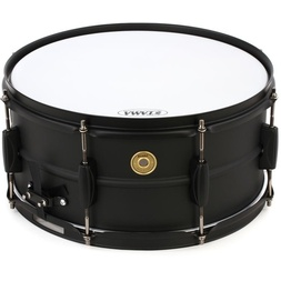 "Tama BST1455 14 x 5.5"" Black Metalworks Snare Drum image"