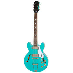 Epiphone Casino Coupe Electric Guitar Turquoise image