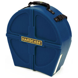 "Hardcase 14"" Snare Drum Case Lined Dark Blue image"
