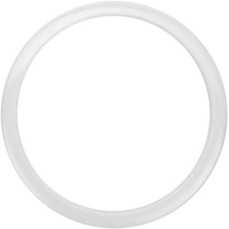 "Ahead Bass Drum O 6"" White image"