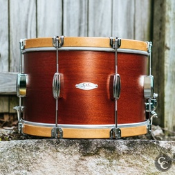"C and C Player Date I 14 x 9"" Mahogany Parade Snare (Display Stock) image"