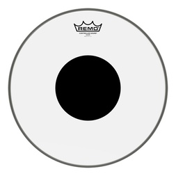 "Remo 16"" Controlled Sound Clear Drum Head w/ Black Dot image"