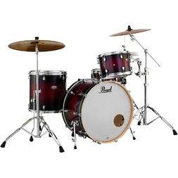 Pearl Decade Maple 5 Piece Drumkit Gloss Deep Red Burst image