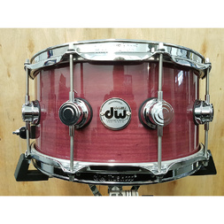 DW Collector's Purpleheart Wood Snare Drum 6.5 x 14 image