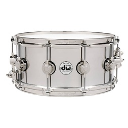 "DW Collectors 14 x 6.5"" Stainless Steel Snare Drum (On Display) image"