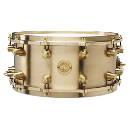 DW True Cast Bronze Snare Drum 14X6.5 Inches Limited Edition - Australian Exclusive - In Stock Now!!! image