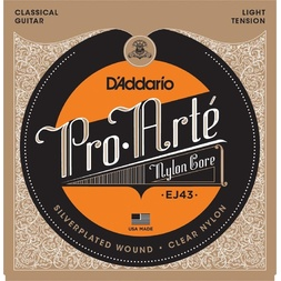 D'Addario EJ43 Pro-Arte Nylon Classical Guitar Strings, Light Tension image