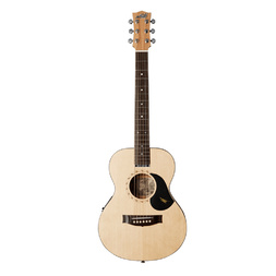 Maton EM-6 Mini All Solid Acoustic/Electric Guitar w AP5 Standard Pickup image