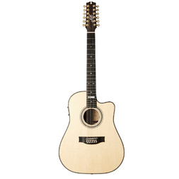 Maton EM100C-12 'Messiah'  12 String Acoustic/Electric Guitar w Cutaway image