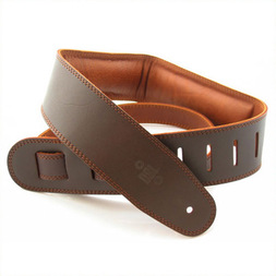DSL 2.5 Inch Padded Garment Strap Saddle Brown/Brown image