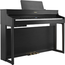 Roland HP702 Digital Home Piano Charcoal Black image