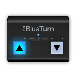 IK Multimedia Blue Turn Backlit Bluetooth Page Turner for IOS Devices image