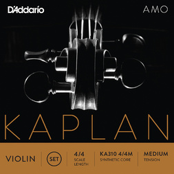 D'Addario 4/4 Size Violin Set Medium image