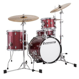Ludwig Breakbeats Drumkit -Wine Red Sparkle image