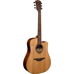 Lag T170DCE Tramontane 170 Dreadnought Acoustic Electric Guitar image