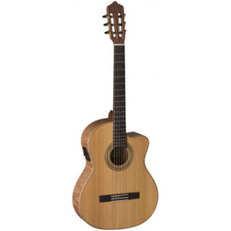 LaMancha Rubi CM-EX Acoustic Nylon Guitar Exotic Wood image