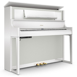 Roland LX 708 Polished White Digital Piano image