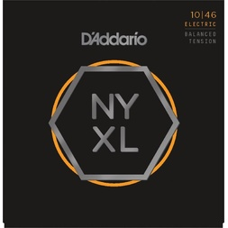 D'Addario NYXL1046BT Nickel Wound Electric Guitar Strings, Balanced Tension, 10-46 image