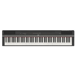Yamaha P125 Digital Piano Black image
