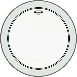 "Remo 16"" P3 Powerstroke 3 Clear Bass Drum Head image"