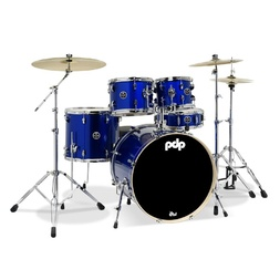 "PDP by DW Mainstage 5 Piece Drum Kit 22"" Midnight Blue image"