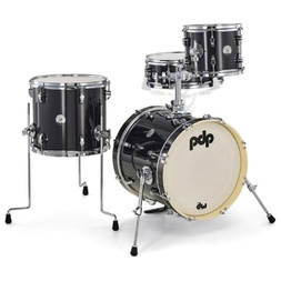 PDP New Yorker 4 Piece Shell Pack - Black Onyx Sparkle image