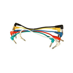 UXL PJ-03R 1 Foot Patch Cables Right Angle Plugs-6 Pack image