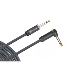 Planet Waves American Stage Instrument Cable, Right Angle, 10 feet image