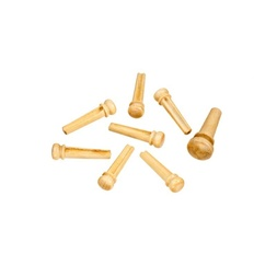 Planet Waves Boxwood Bridge Pins with End Pin Set image