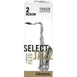 Rico Select Jazz Tenor Sax Reed Filed 2M Q/P05 image