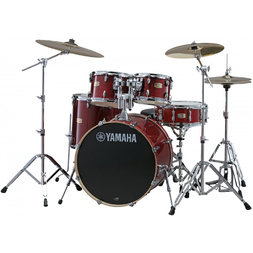 Yamaha Stage Custom Birch Fusion Kit Cranberry Red image