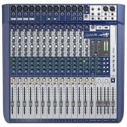 Soundcraft Signature 16 Channel Mixer With USB And FX image