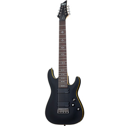 Schecter Demon 8 Stringing Electric Guitar image