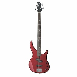 Yamaha TRBX174RM Electric Bass Guitar Red Metallic image