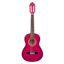 Valencia Series 100 1/2 Size Classical Guitar (Pink Sunburst) image