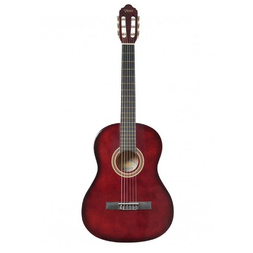 Valencia 1/2 Size Nylon String Student Guitar Red image