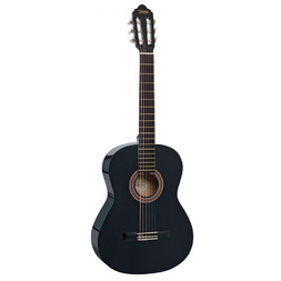 Valencia VC104 Full Size Classical Guitar - Black image
