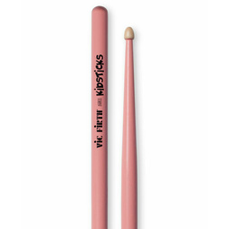 Vic Firth American Classic Wood Tip Kidsticks w/Pink Finish image